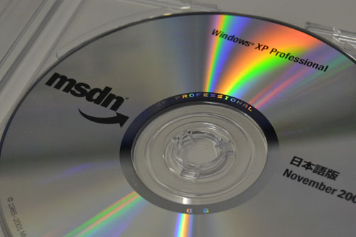 MSDN VL版 Windows XP Professional