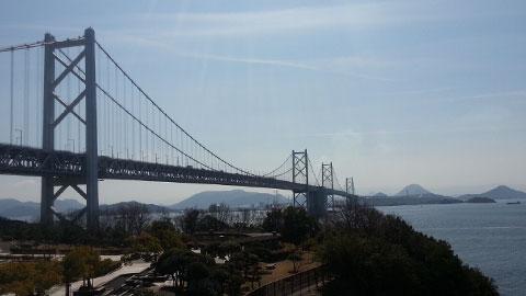 瀬戸大橋の観光写真