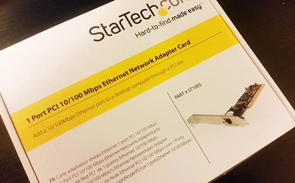 ネットワーク増設PCIカード
