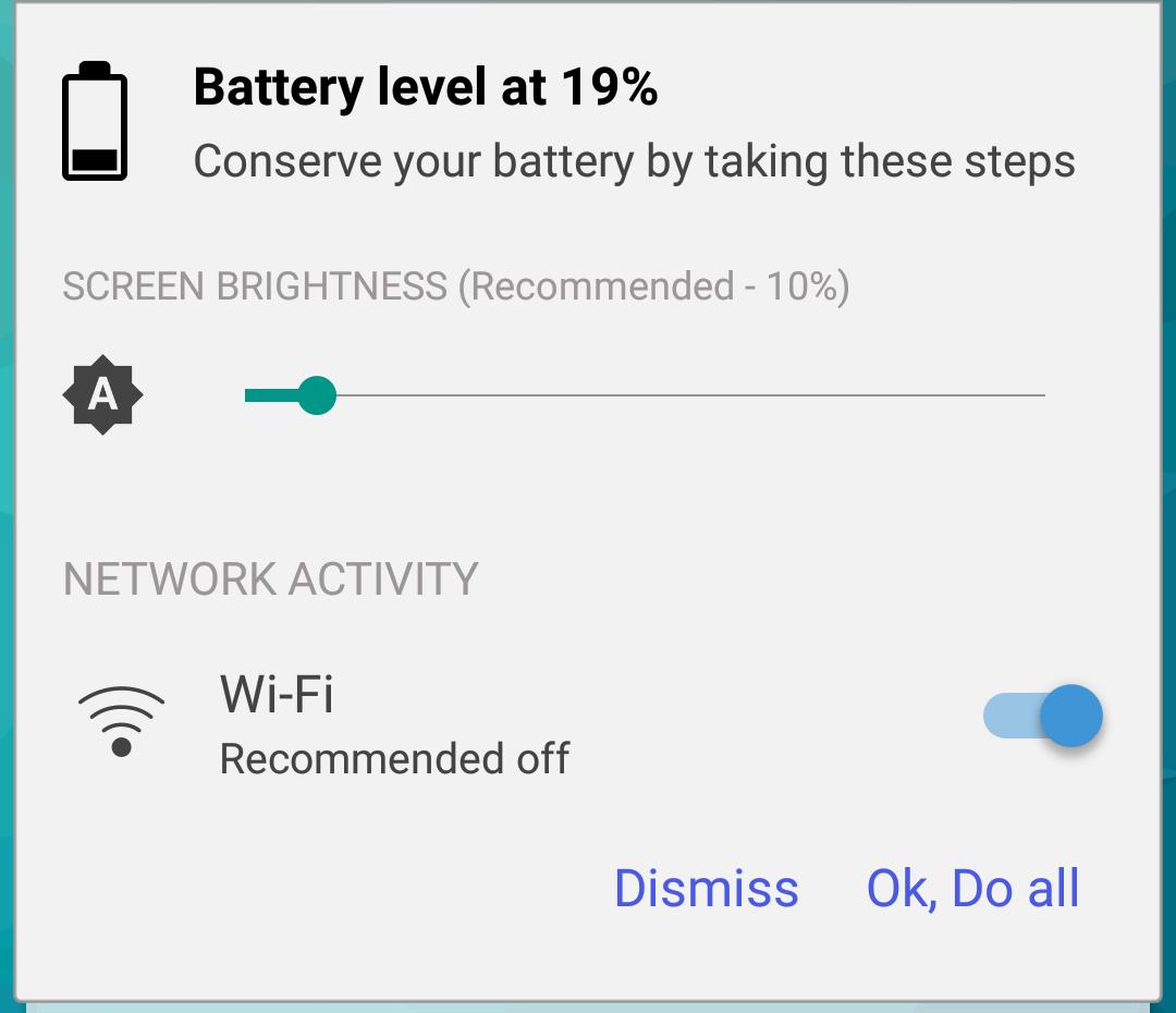 バッテリー残量が少ない