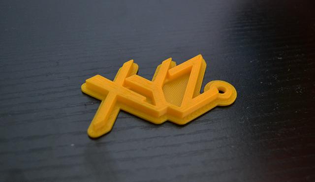 3Dプリンタで制作したサンプル