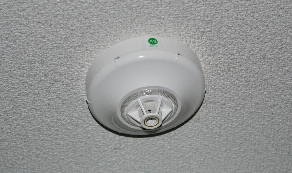 わが家の火災報知器