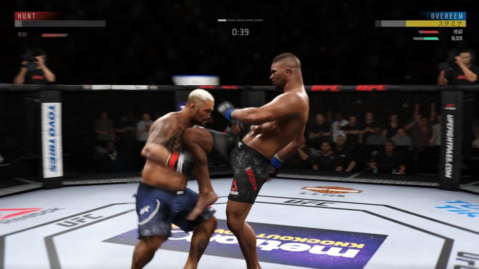 UFC3『スタンドバトルモード』