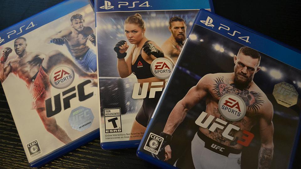 EA SPORTS UFC全シリーズ