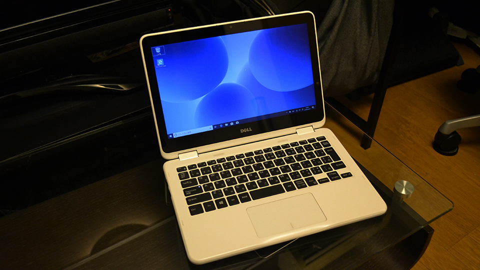 DELL 2-in-1パソコン『Inspiron 11 3000シリーズ(3185)』パソコンモード