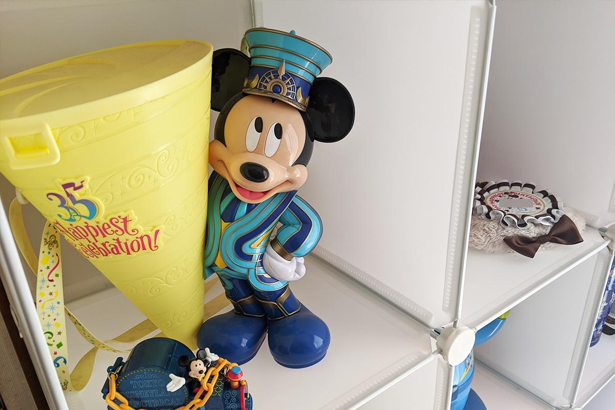 ミッキーマウスのポップコーンバスケット