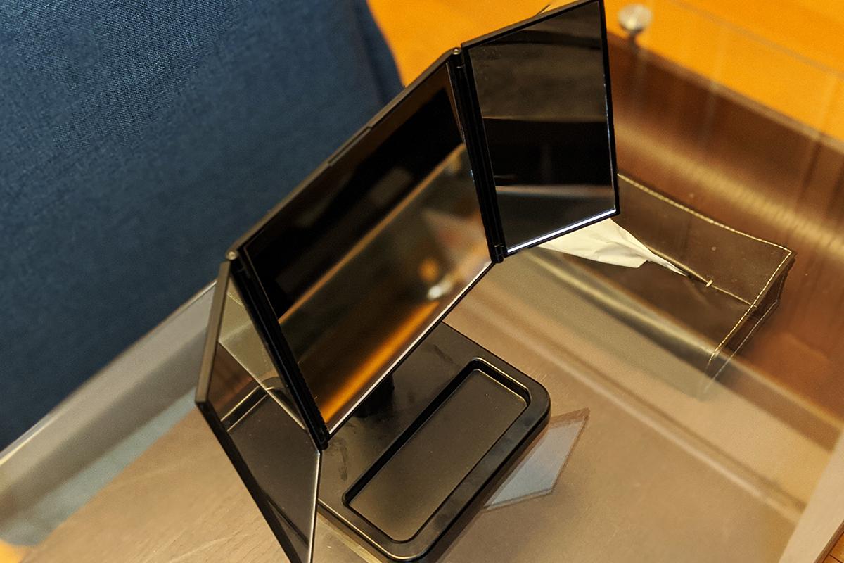 三面鏡 ナピュア プレミアム3WAYミラー
