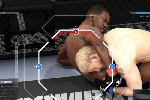PS4版UFC オフェンス