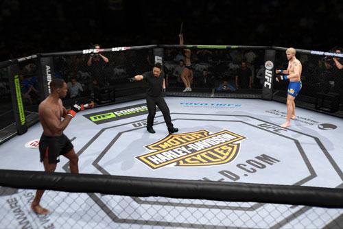 PS4版UFC(EA)