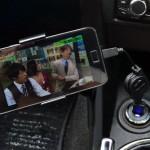 スマホを使って車でFC2動画