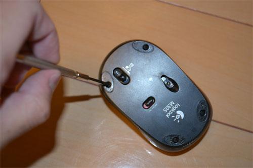 ロジクールのマウスを分解・修理
