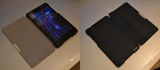 New Nexus7(MoKoカバー表裏)