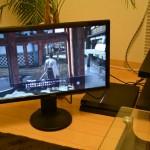 PS4を液晶モニタ「GL2450HT」でプレイ