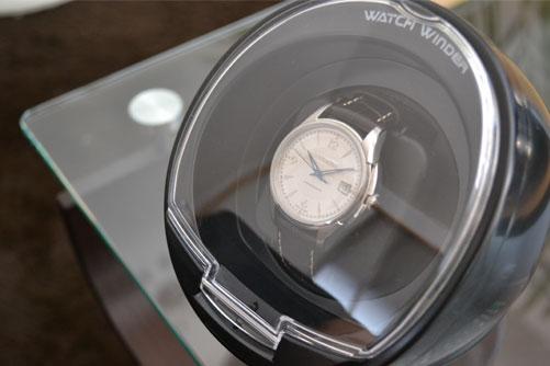 ワインディングマシーンとハミルトンの機械式腕時計