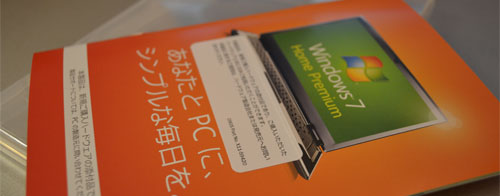 DSP(OEM)版windows7